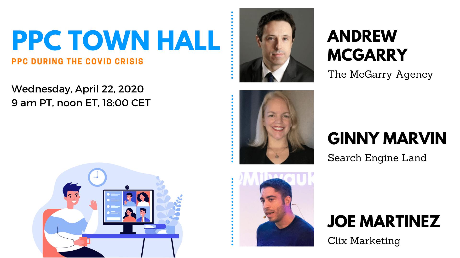 PPC Town Hall - Apr 22 2020