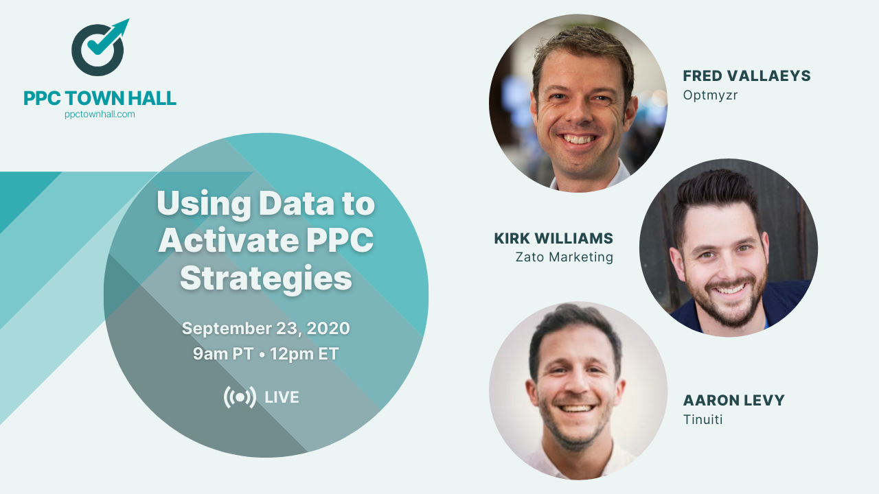 PPC Town Hall 22 - Data and analytics (1)