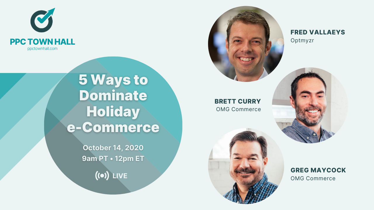 PPC Town Hall 25 - Advanced eCommerce